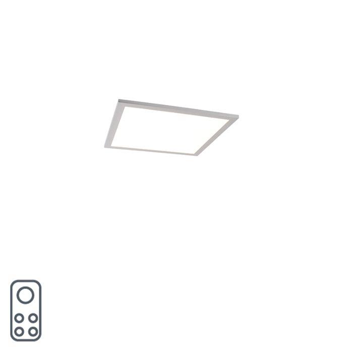 Modern-LED-paneel-40-cm-incl.-LED-en-dimmer---Liv