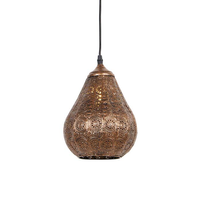 Oosterse-hanglamp-koper---Billa-Dia