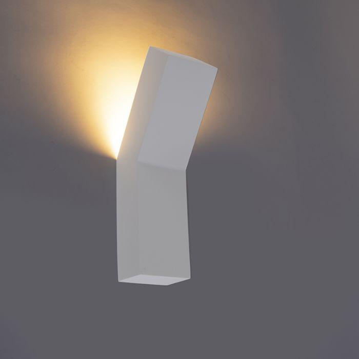 Moderne-wandlamp-wit---Gypsy-Rampa
