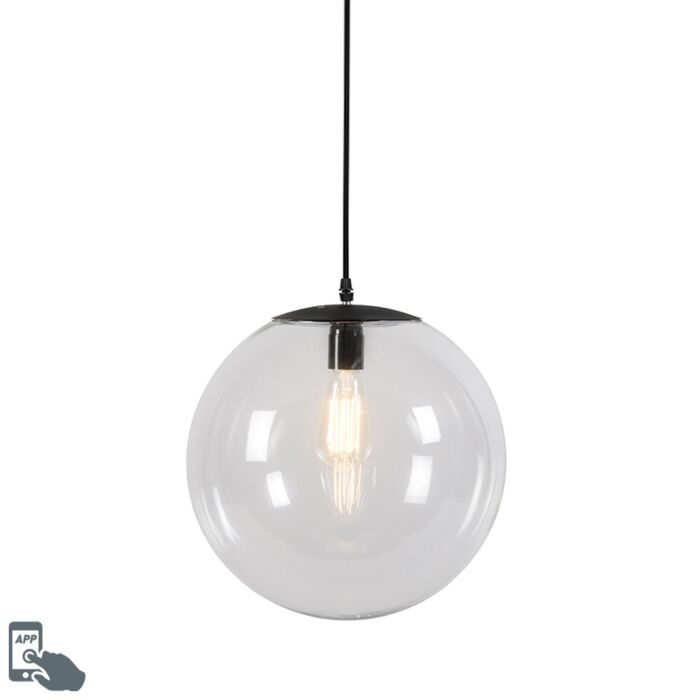 Smart-hanglamp-transparant-35-cm-incl.-WiFi-A60---Pallon