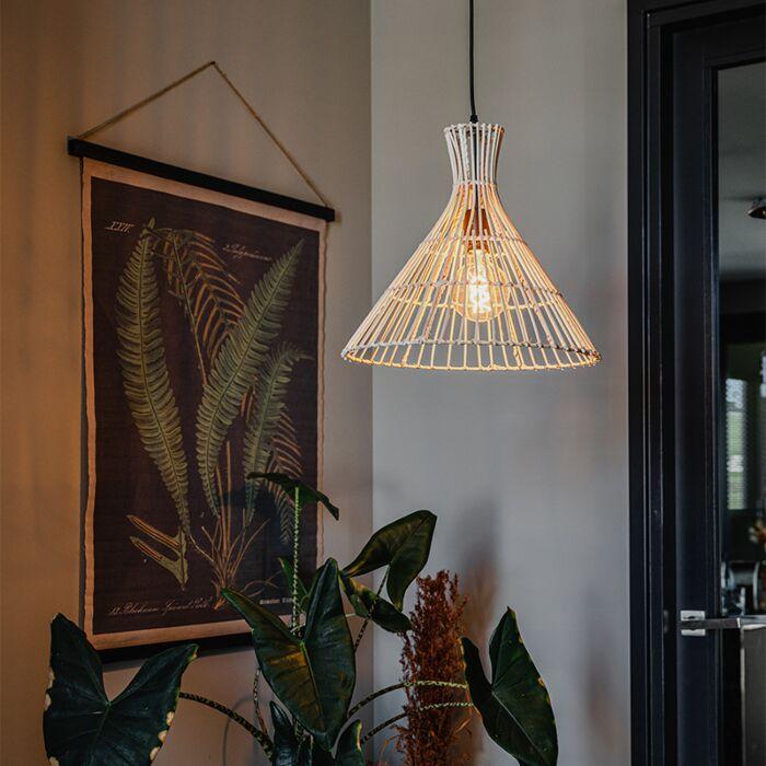 Landelijke-hanglamp-rotan---Vida