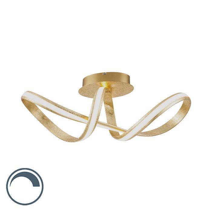 Design-plafondlamp-goud-incl.-LED---Belinda