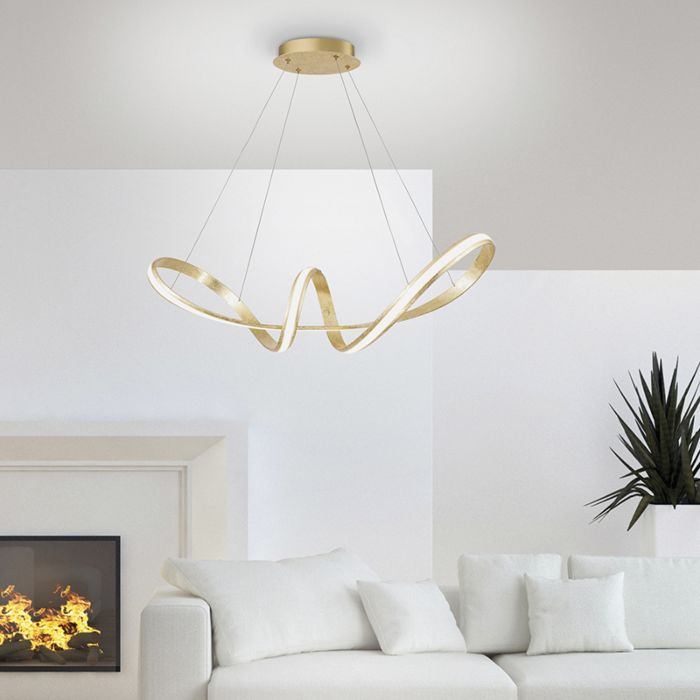 Design-hanglamp-goud-incl.-LED-60-cm---Belinda