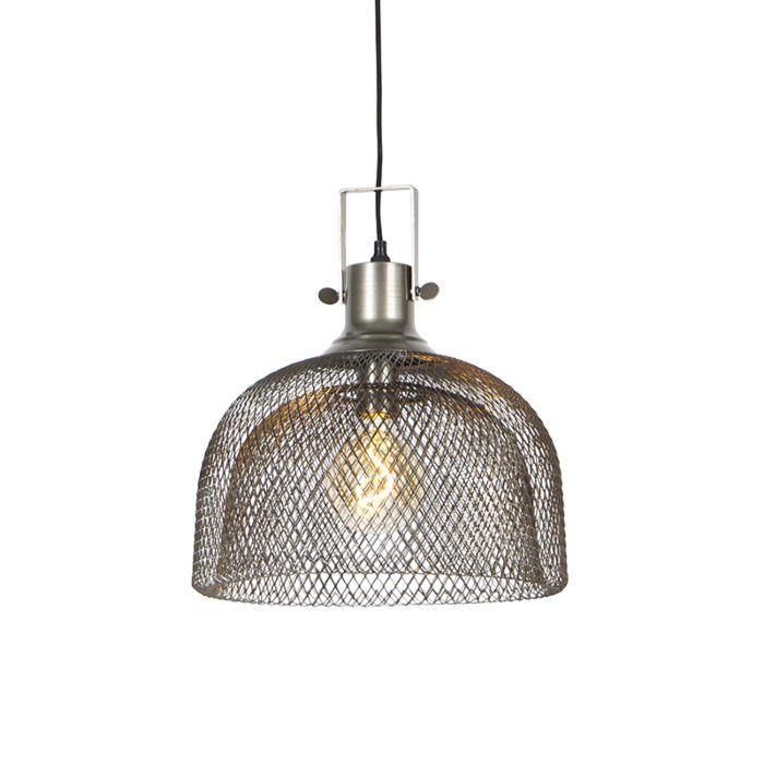 Industriële-hanglamp-staal---Maze