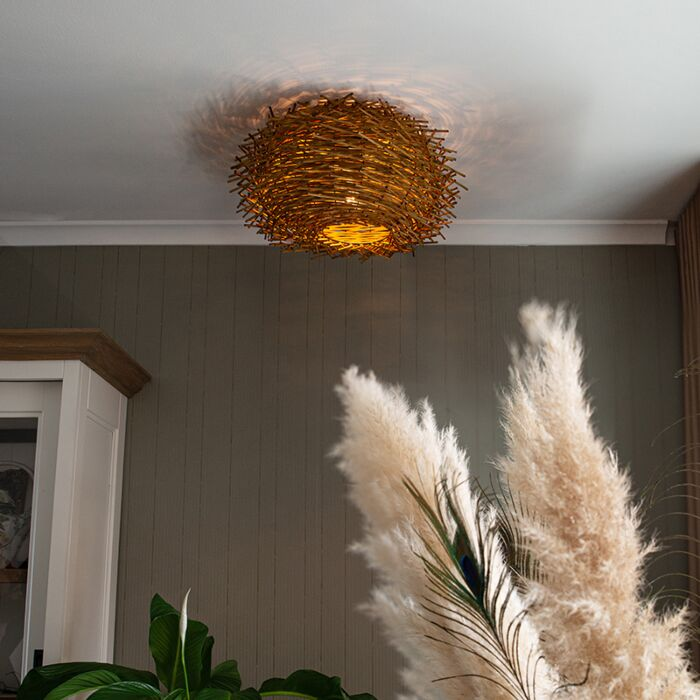 Landelijke-plafondlamp-rotan---Hatch