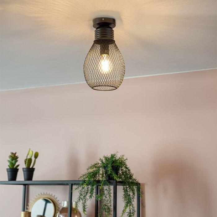 Design-plafondlamp-zwart---Raga