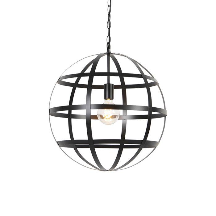 Industriële-hanglamp-zwart---Boula