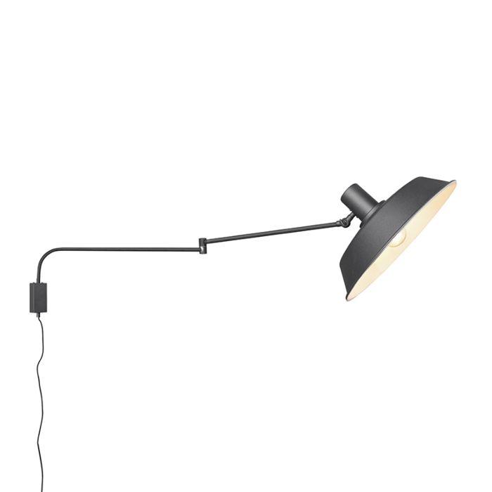Wandlamp-zwart-verstelbaar-met-schakelaar---Danielle