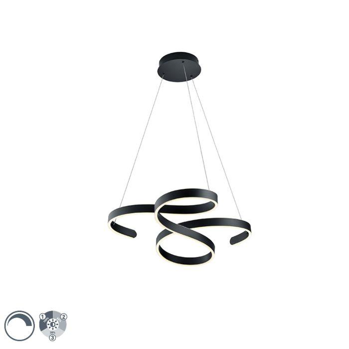 Design-hanglamp-grijs-incl.-LED-3-staps-dimbaar---Frank