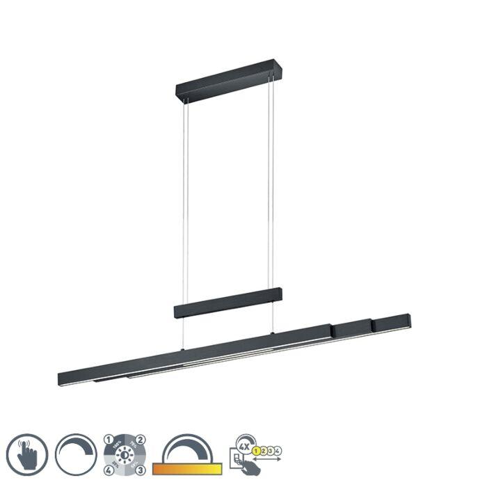 Hanglamp-zwart-incl.-LED-3-staps-dimbaar-3-lichts---Sofie