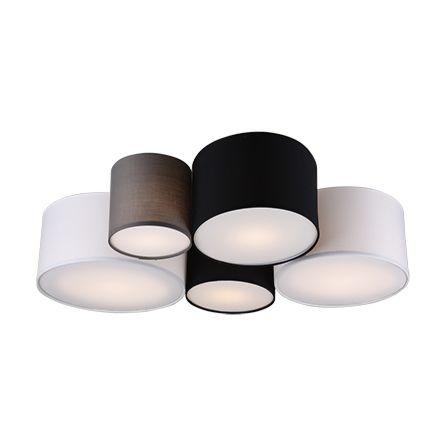Design-plafonnière-multicolor-5-lichts---Sectos