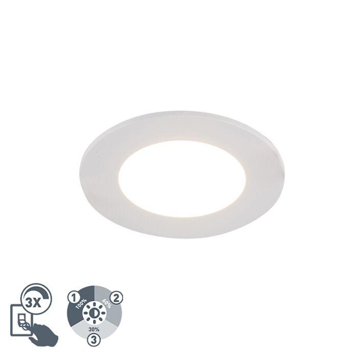 Inbouwspot-wit-incl.-LED-3-staps-dimbaar-IP65---Blanca