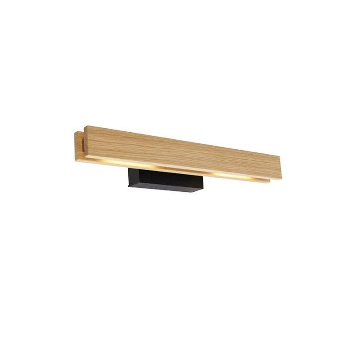Landelijke-wandlamp-eik-incl.-LED---Holz