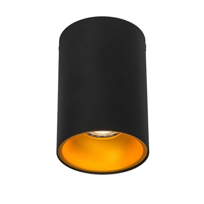 Smart-spot-zwart-met-goud-incl.-wifi-GU10-lichtbron---Deep