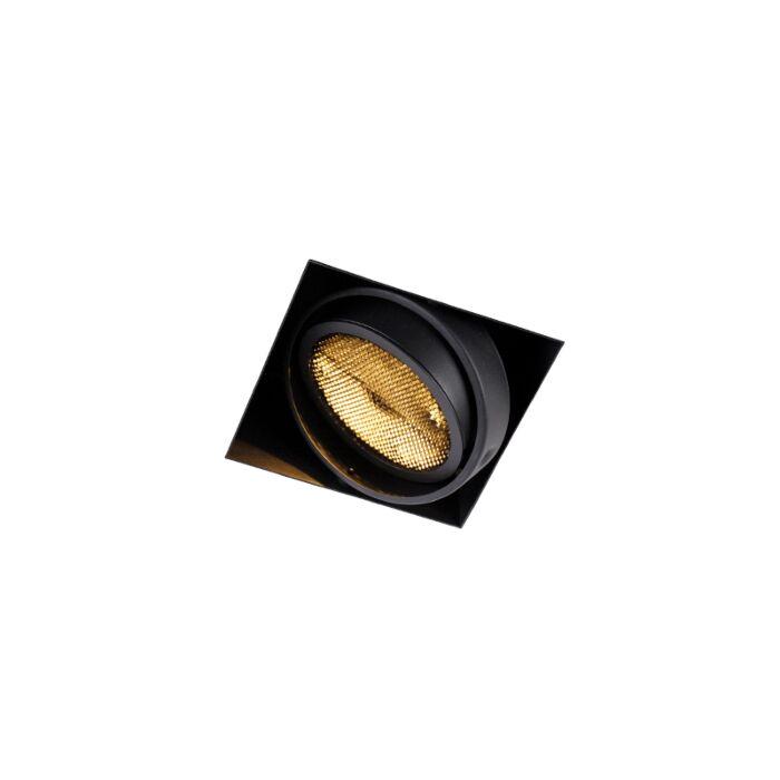 Inbouwspot-zwart-GU10-AR111-Trimless---Oneon-Honey