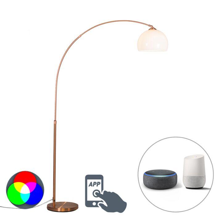 Smart-booglamp-koper-incl.-A60-Wifi---Arc-Basic
