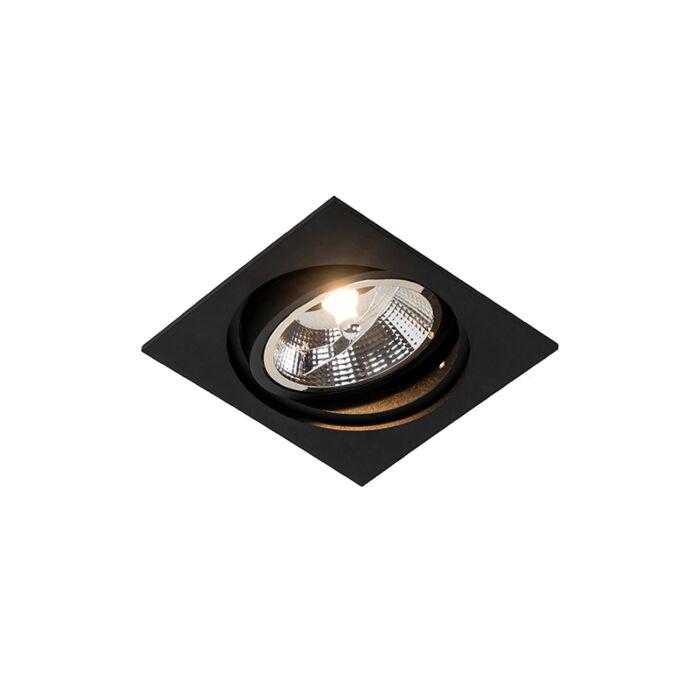 Vierkante-inbouwspot-zwart-verstelbaar---Chuck-111