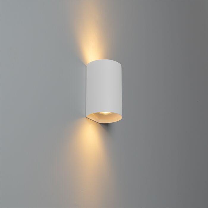 Design-ronde-wandlamp-wit---Sabbir