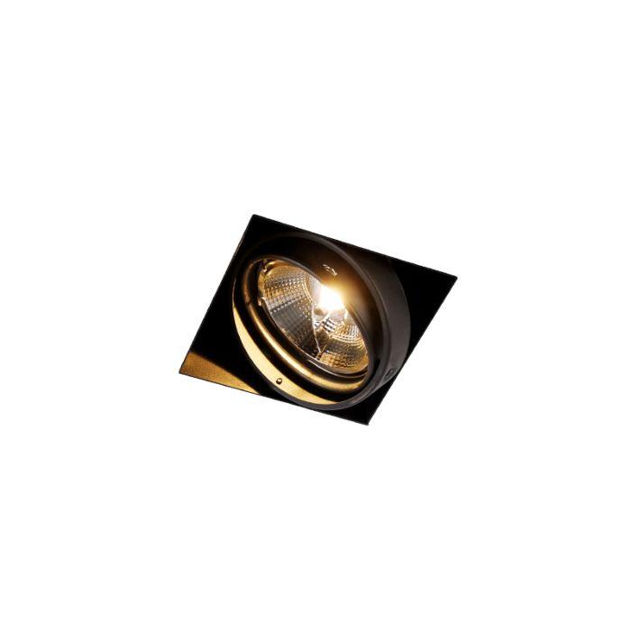 Inbouwspot-zwart-GU10-AR111-Trimless---Oneon