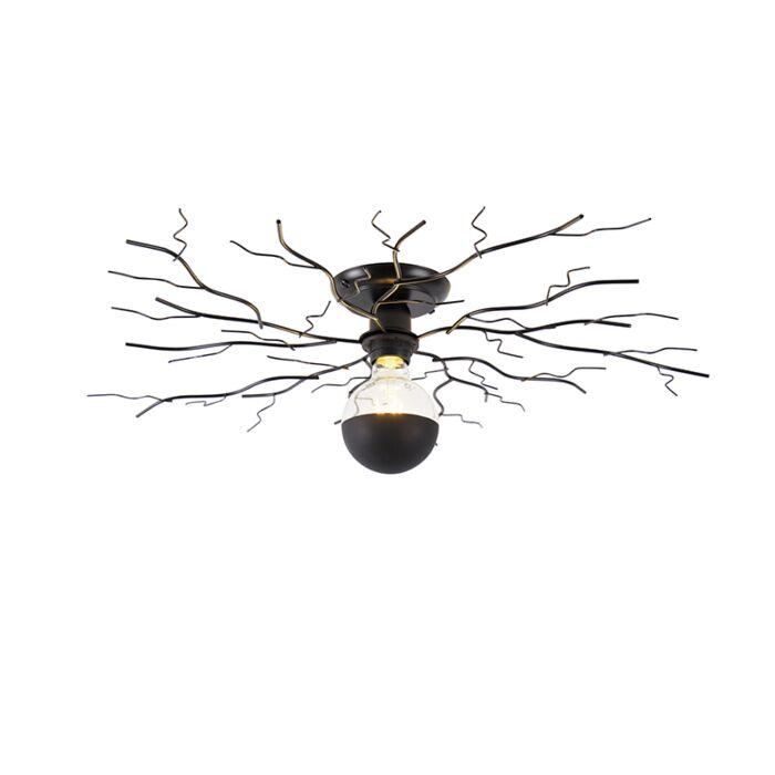 Art-Deco-plafondlamp-zwart-50-cm---Ramuri