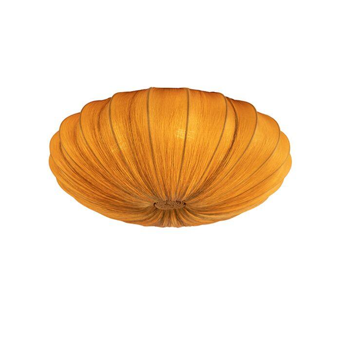 Design-plafondlamp-goud-zijden-60-cm---Plu