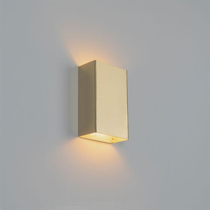 Moderne-wandlamp-goud---Otan-S