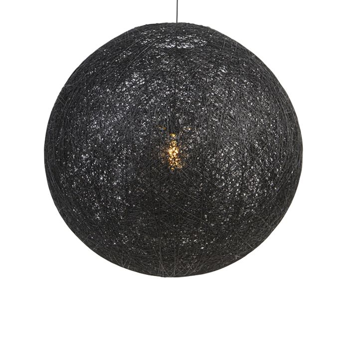 Landelijke-hanglamp-zwart-80-cm---Corda
