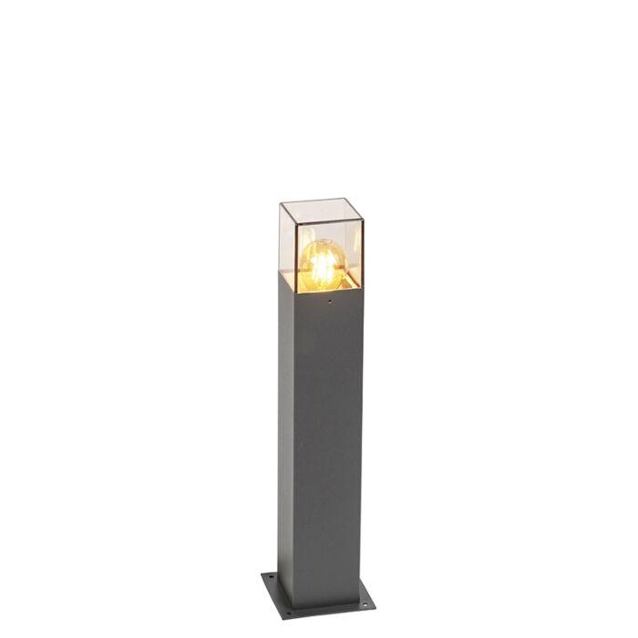 Smart-staande-buitenlamp-antraciet-50-cm-incl.-Wifi-A60---Denmark
