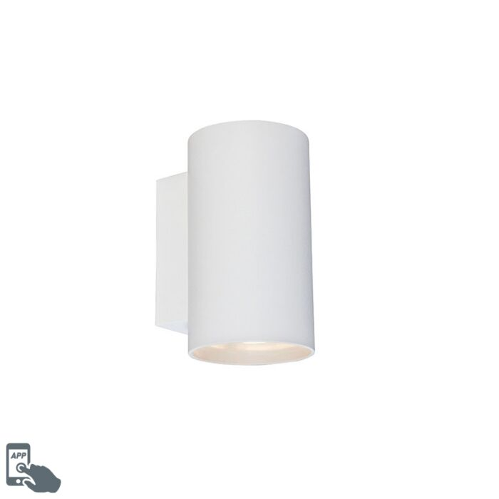 Smart-wandlamp-rond-wit-incl.-wifi-GU10---Sandy