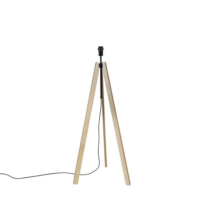 Landelijke-vloerlamp-tripod-multiplex---Telu