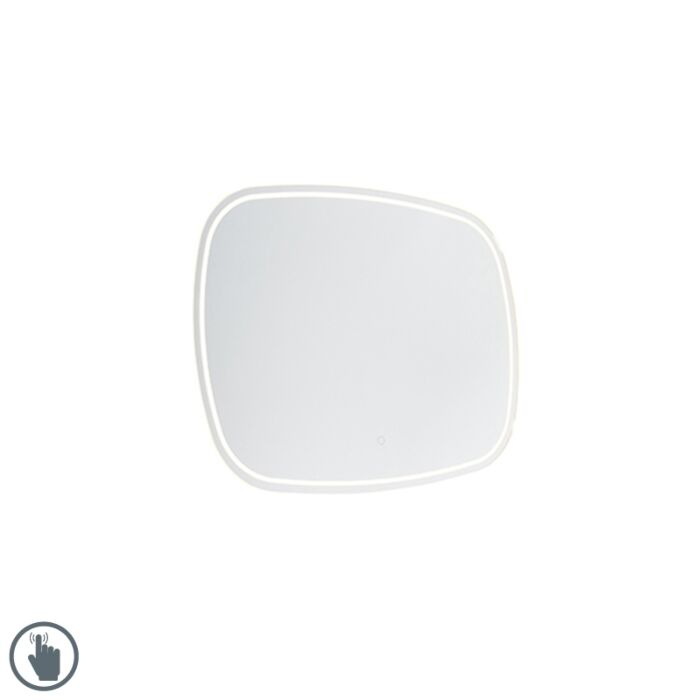 Badkamerspiegel-60x80-cm-incl.-LED-met-touch-dimmer-IP44---Miral