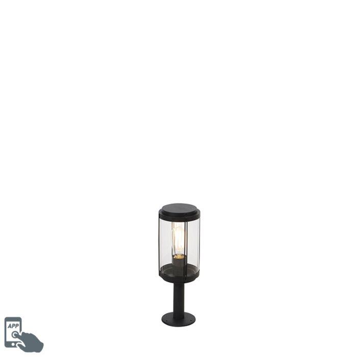 Smart-design-buitenlamp-zwart-40-cm-incl.-wifi-ST64---Schiedam