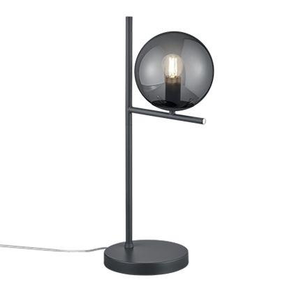 Art-Deco-tafellamp-zwart-met-smoke-glas---Flore