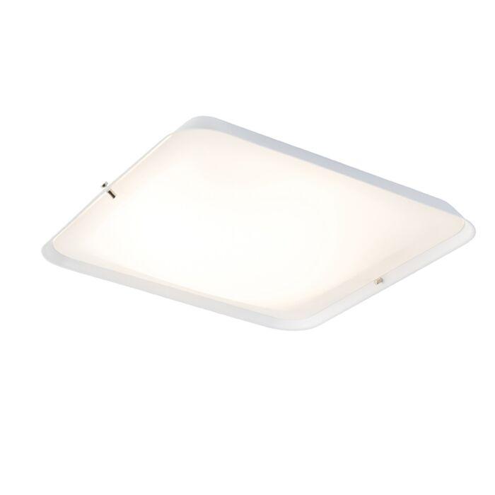 Moderne-plafondlamp-wit-34,5-cm-incl.-LED---Edor