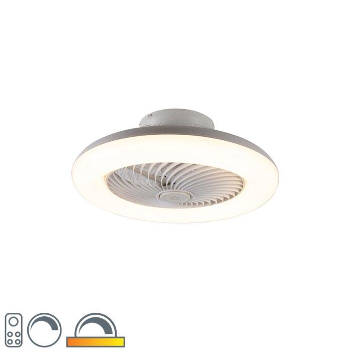 Plafondventilator-wit-incl.-LED-dimbaar---Clima