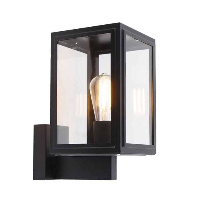 Landelijke-wandlamp-zwart-IP44---Sutton-Up