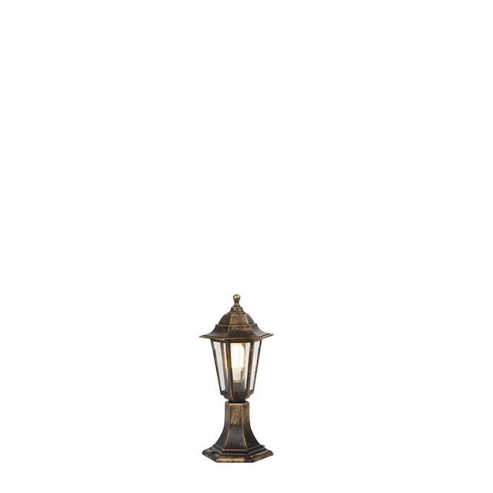 Buitenlamp-antiek-goud-42-cm-IP44---New-Haven