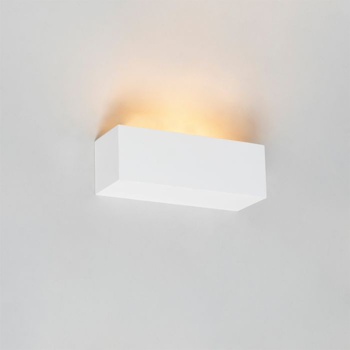 Moderne-wandlamp-wit---Santino-Novo