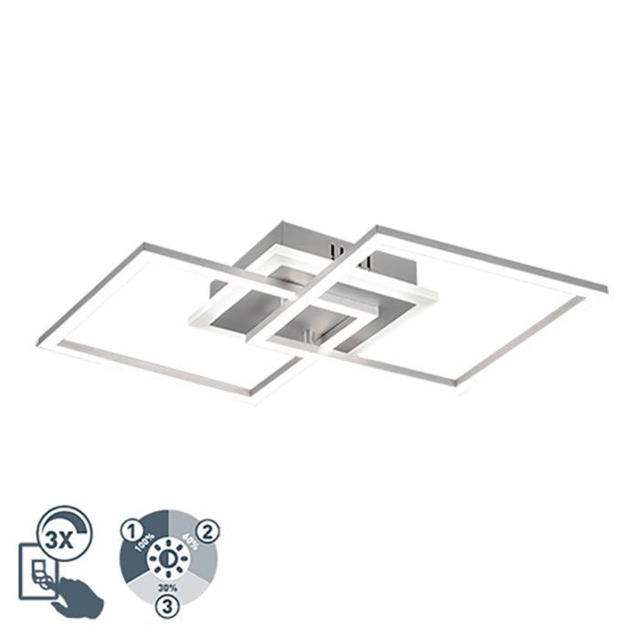 Design-plafondlamp-staal-incl.-LED-3-staps-dimbaar---Veni