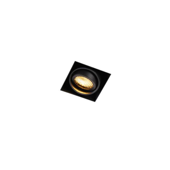 Inbouwspot-zwart-draai--en-kantelbaar-Trimless-1---Oneon-Honey