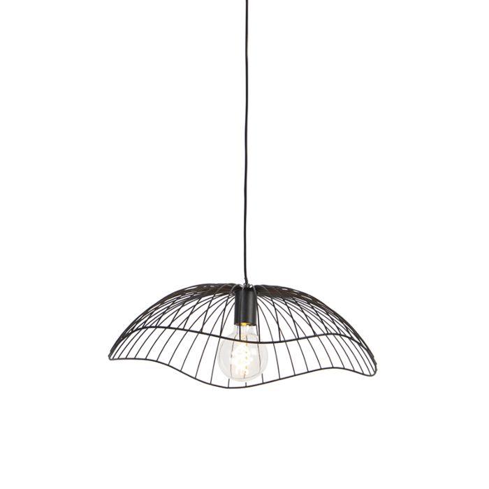 Design-hanglamp-zwart-50-cm---Pua