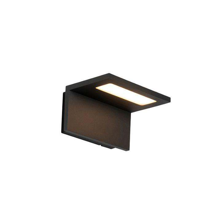 Moderne-buitenwandlamp-antraciet-incl.-LED-IP54---Harvey