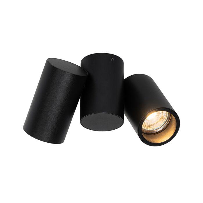 Design-spot-zwart-2-lichts-verstelbaar---Michael