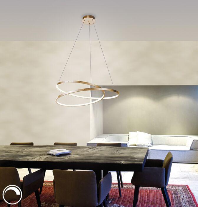 Design-hanglamp-goud-72-cm-incl.-LED-dimbaar---Rowan