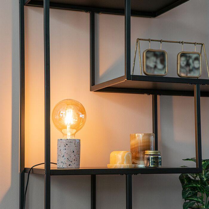Design-tafellamp-roze-graniet---Baranda