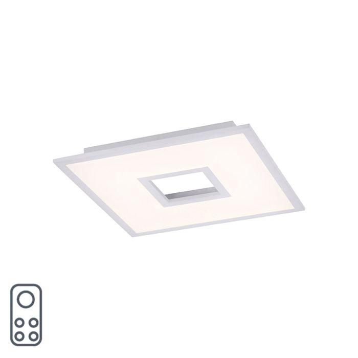 Design-plafonnière-wit-RGB-incl.-LED-45-cm---Tile