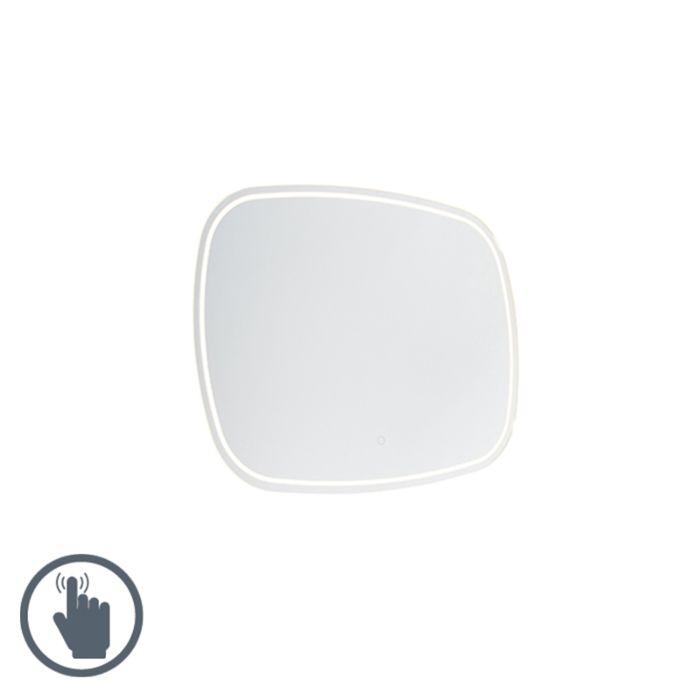 Moderne-badkamerspiegel-60x80-cm-incl.-LED-met-touch-dimmer-IP44---Miral