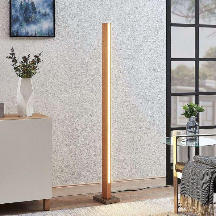 Landelijke-vloerlamp-hout-incl.-LED---Tamlin