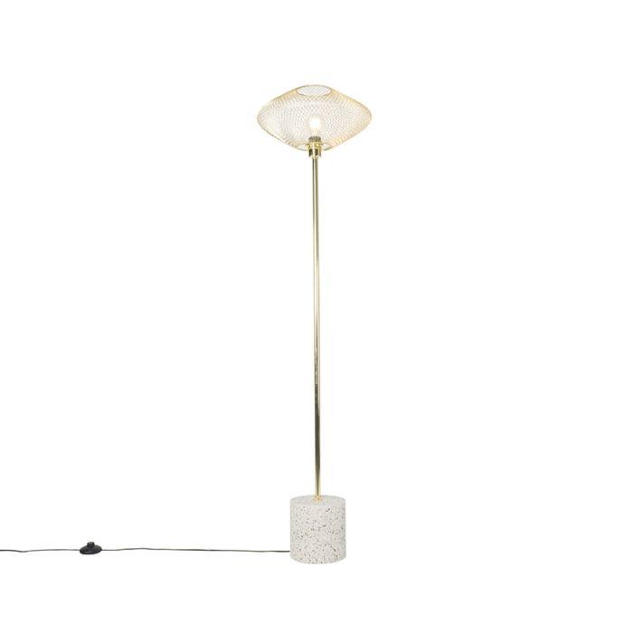 Design-vloerlamp-terrazzo-met-messing---Ella