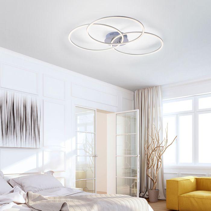 Plafondlamp-wit-incl.-LED-en-dimbaar-3-lichts---Julka